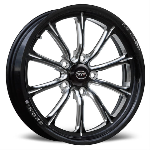 RC Components Exile-S Eclipse Gloss Black Wheels CS74531-05E