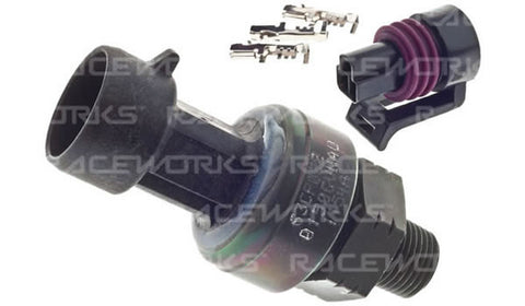 Raceworks 150PSI TI Fuel And Oil Pressure Sensor