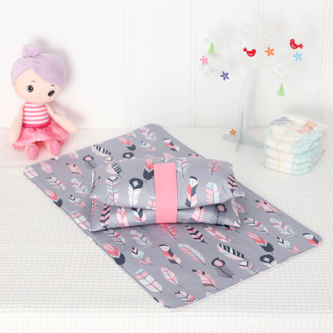 Nappy Wallet & Change Mat Sets