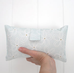 Nappy Wallet - Mint and Gold Dots