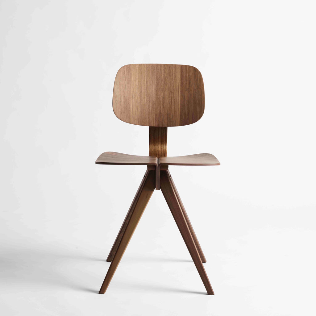 Mosquito Chair natural walnut