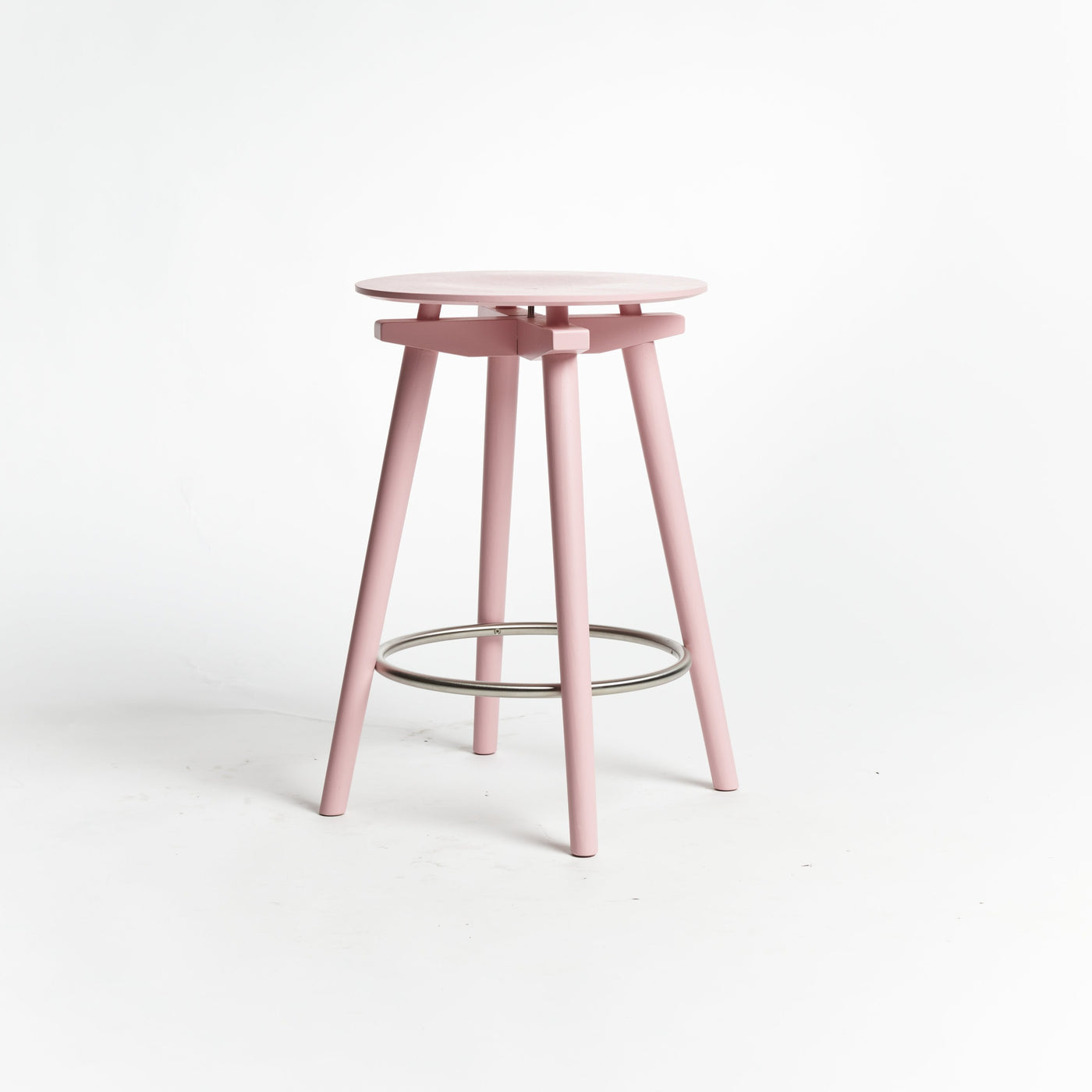 CC Barstool pink - seating height 60 cm