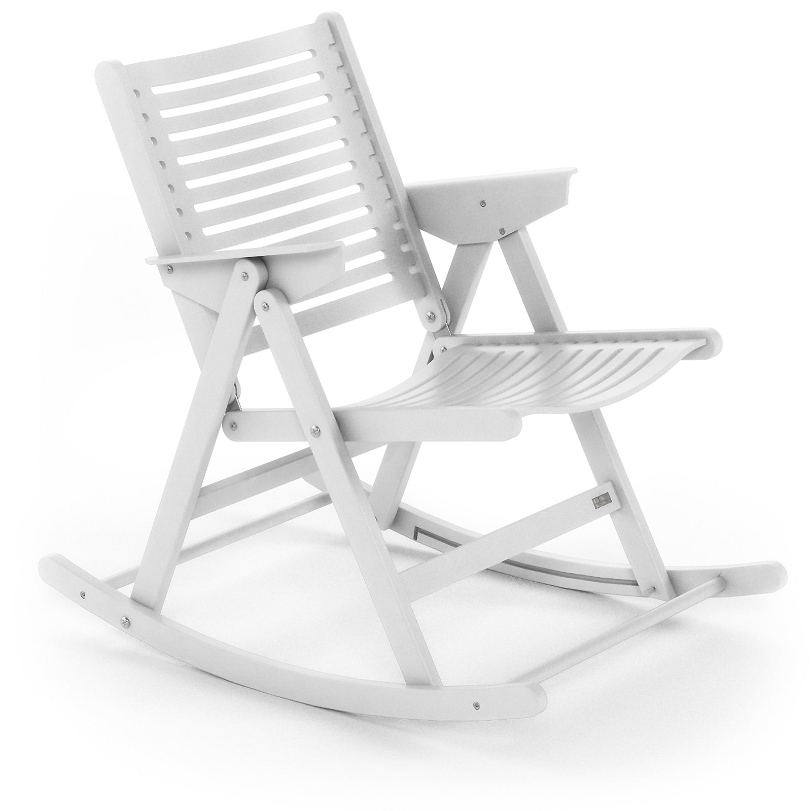 Rex Rocking Chair white ashwood