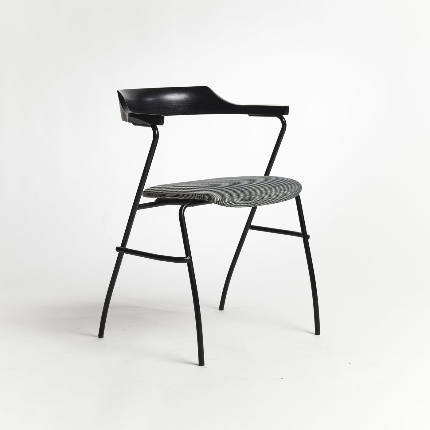 Project Chair offset seat Rohi textile pepper