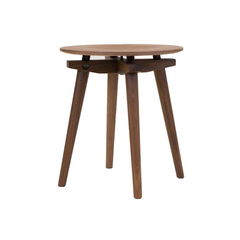 CC Stool natural walnut