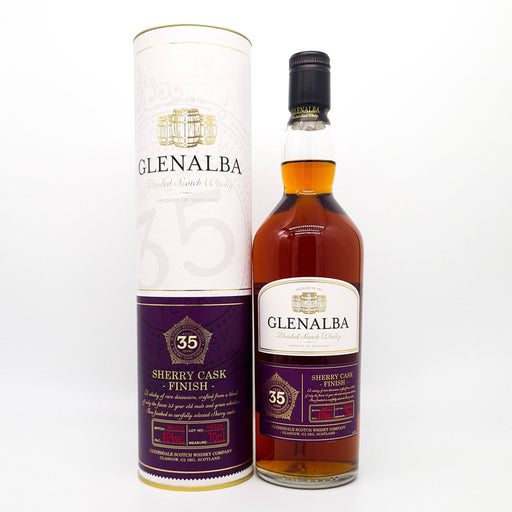 Glen Alba 28 Year Old Sherry Cask Finish Whisky Old and Rare Whisky