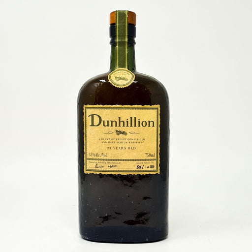 Dunhillion 23 Year Old Whisky Old and Rare Whisky