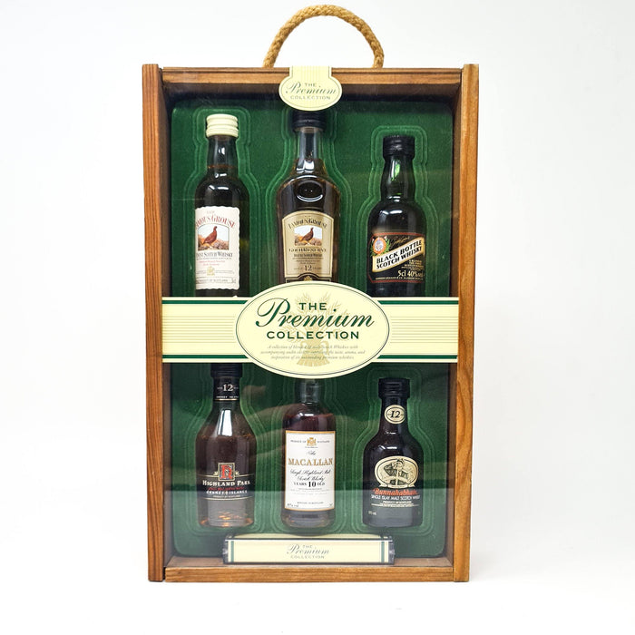 The Premium Collection Miniature Set 6 x 5cl Whisky Old and Rare Whisky