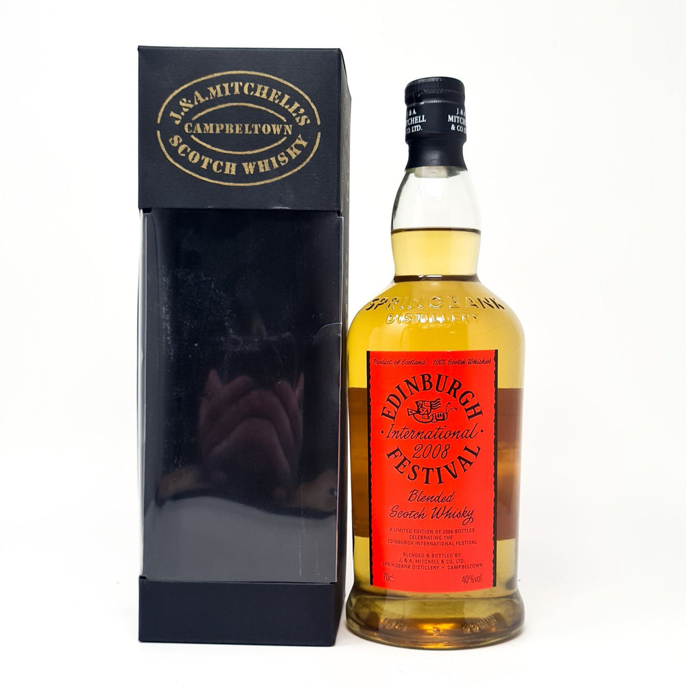 Springbank International Festival 2008 Whisky Old and Rare Whisky