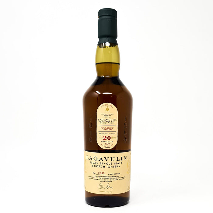 Lagavulin 20 Year Old Feis Ile 2020 Whisky Old and Rare Whisky