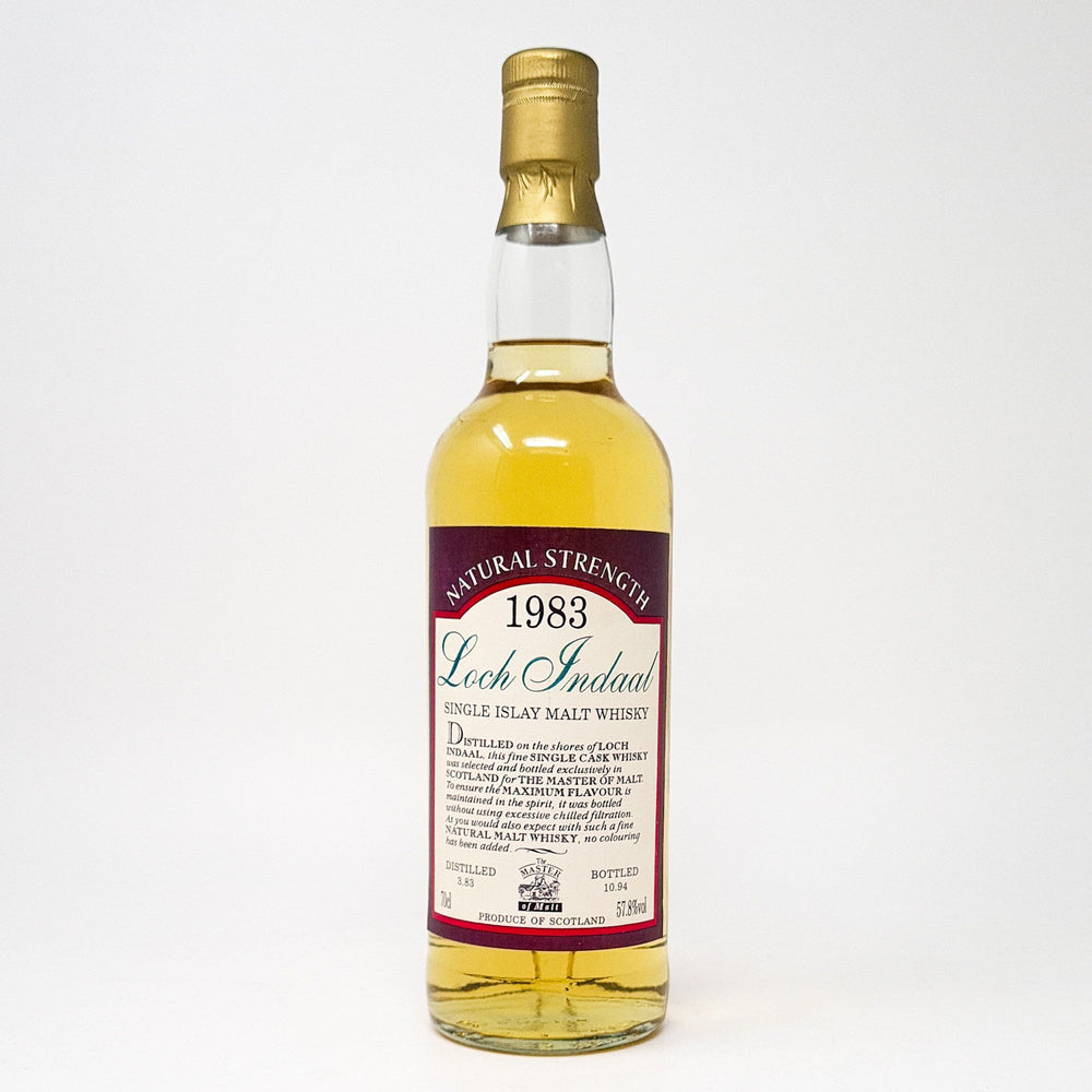 Loch Indaal 1983 Master of Malt Whisky Old and Rare Whisky