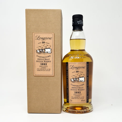 Longrow 10 Year Old 1992 Whisky Old and Rare Whisky