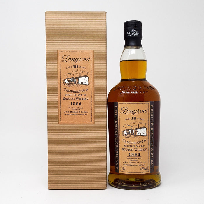 Longrow 10 Year Old 1996 Whisky Old and Rare Whisky