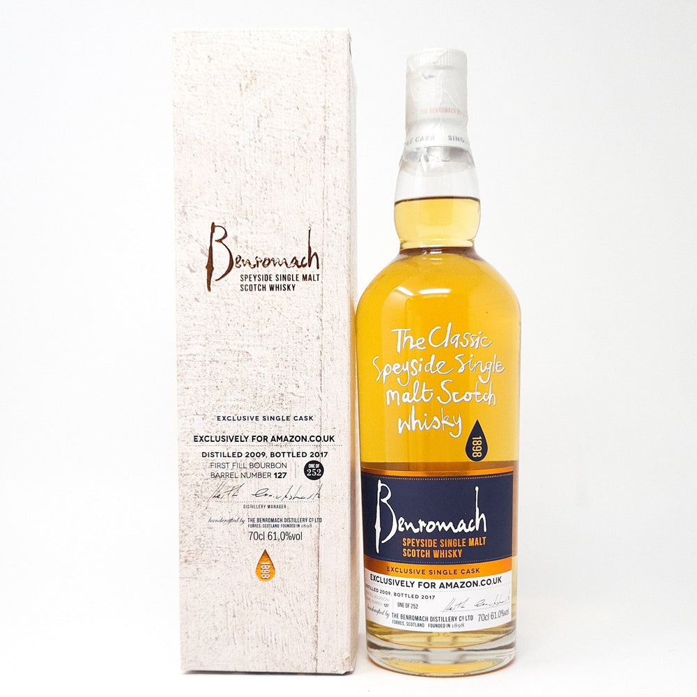 Benromach 2009 Amazon Exclusive Whisky Old and Rare Whisky