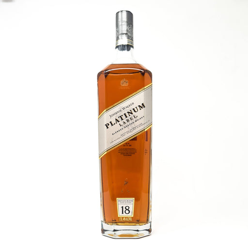 Johnnie Walker Platinum 1.75 Litre Whisky Old and Rare Whisky