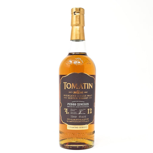 Tomatin 12 Year Old Pedro Ximenez Cuatro Series 70cl, 46% ABV Whisky Old and Rare Whisky