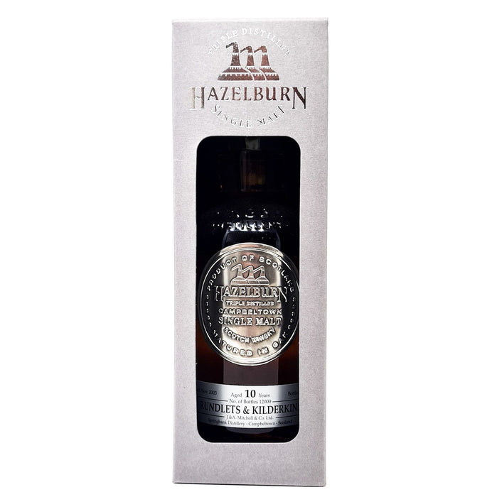 Hazelburn 10 Year Old Rundlets & Kilderkins Single Malt 70cl, 50.1% ABV Whisky Old and Rare Whisky