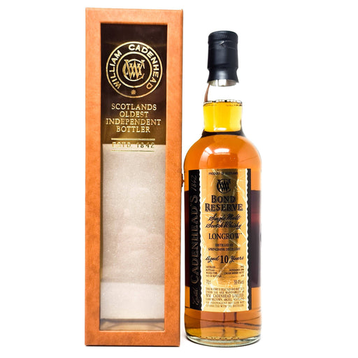 Longrow 10 Year Old Bond Reserve Single Malt 70cl, 59.4% ABV Whisky Old and Rare Whisky