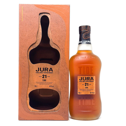 Jura 21 Year Old Tide Single Malt 70cl, 46.7% ABV Whisky Old and Rare Whisky