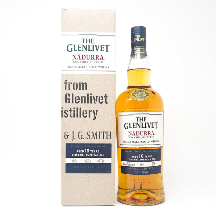 Glenlivet Nadurra 16 Years Old Cask Strength Whisky Old and Rare Whisky