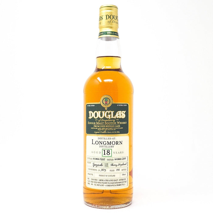 Longmorn 18 Year Old Douglas of Drumlanrig Whisky Old and Rare Whisky