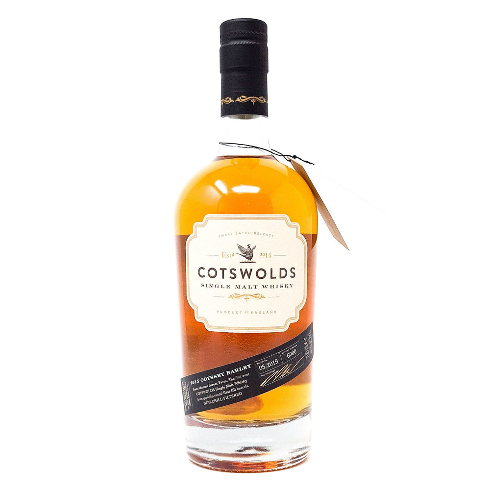 Cotswolds 2015 Odyssey Barley Single Malt 70cl, 43% ABV Whisky Old and Rare Whisky