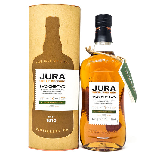 Jura Two-one-Two 13 Year Old Limited Edition 70cl, 47.5% ABV