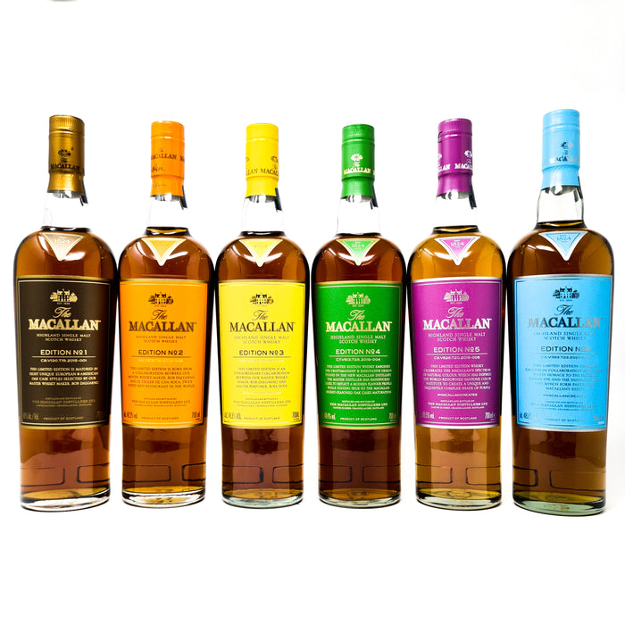 Macallan Edition No.1-6 Highland Single Malt Scotch Whisky
