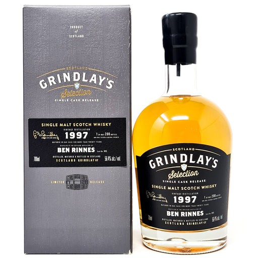 Benrinnes 1997 Grindlay's Selection Cask Strength Scotch Whisky, 70cl, 56.4% ABV