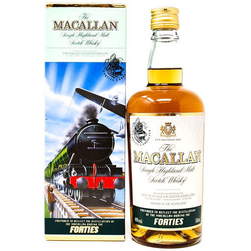 Macallan Decades Travel Series Forties 50cl, 40% ABV