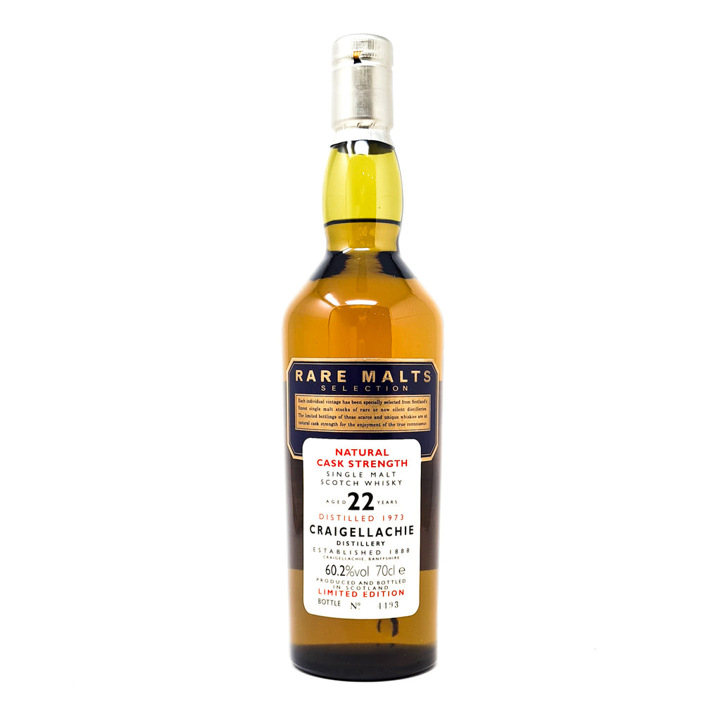 Craigellachie 22 Year Old 1973 Rare Malts 70cl, 60.2% ABV