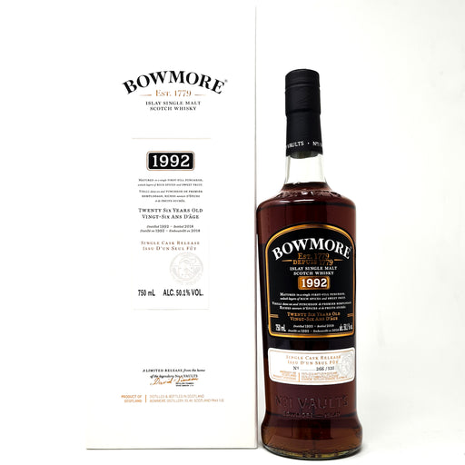Bowmore 26 Year Old 1992 Single Cask Release 75cl, 50.1% ABV