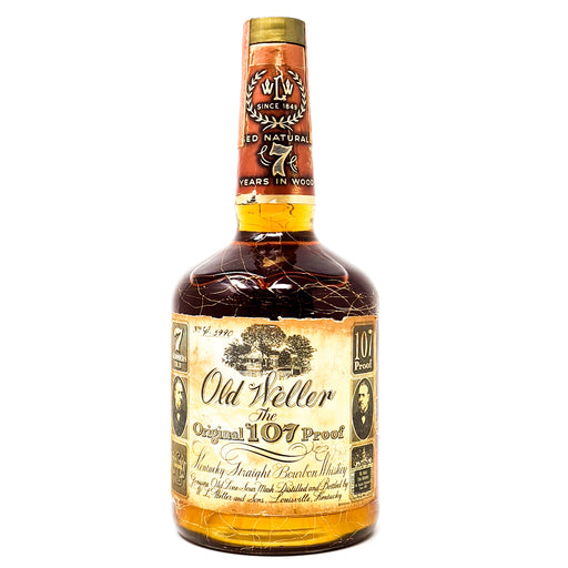 Old Weller 7 Year Old 107 Proof Kentucky Straight Bourbon