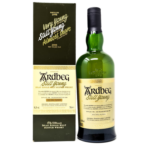 Ardbeg Still Young Islay Single Malt Scotch Whisky 70cl, 56.2% ABV