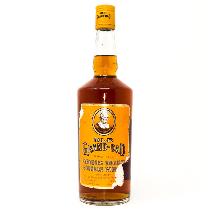 Old Grand-Dad Kentucky Straight Bourbon Whiskey 75cl, 86 Proof