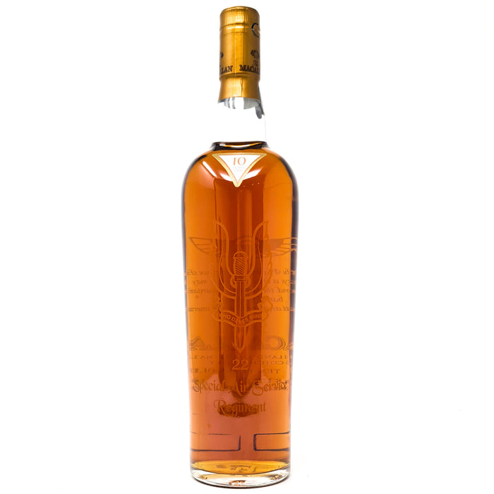 Macallan 10 Year Old 22 Special Air Service Regiment Bottling 70cl, 40% ABV