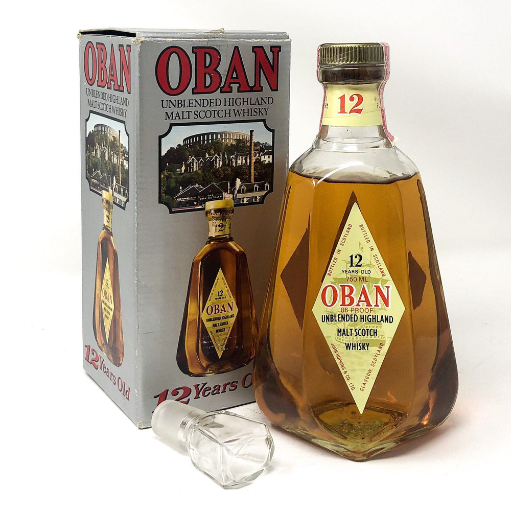 Oban 12 Year Old Whisky Old and Rare Whisky