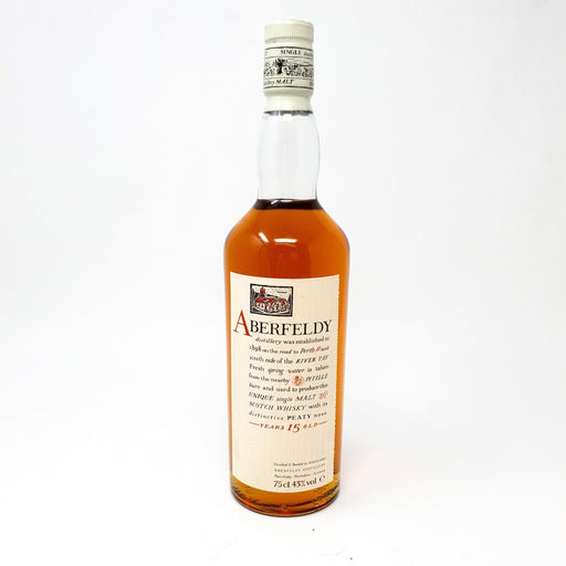 Aberfeldy 15 Year Old 1980's Bottling Whisky Old and Rare Whisky