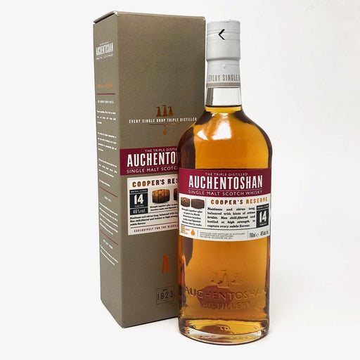 Auchentoshan 14 Year Old Cooper's Reserve Whisky Old and Rare Whisky
