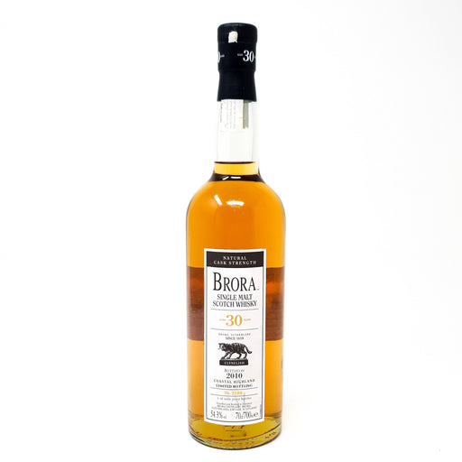 Brora 30 Year Old 9th Release 2010 Cask Strength Whisky Old and Rare Whisky