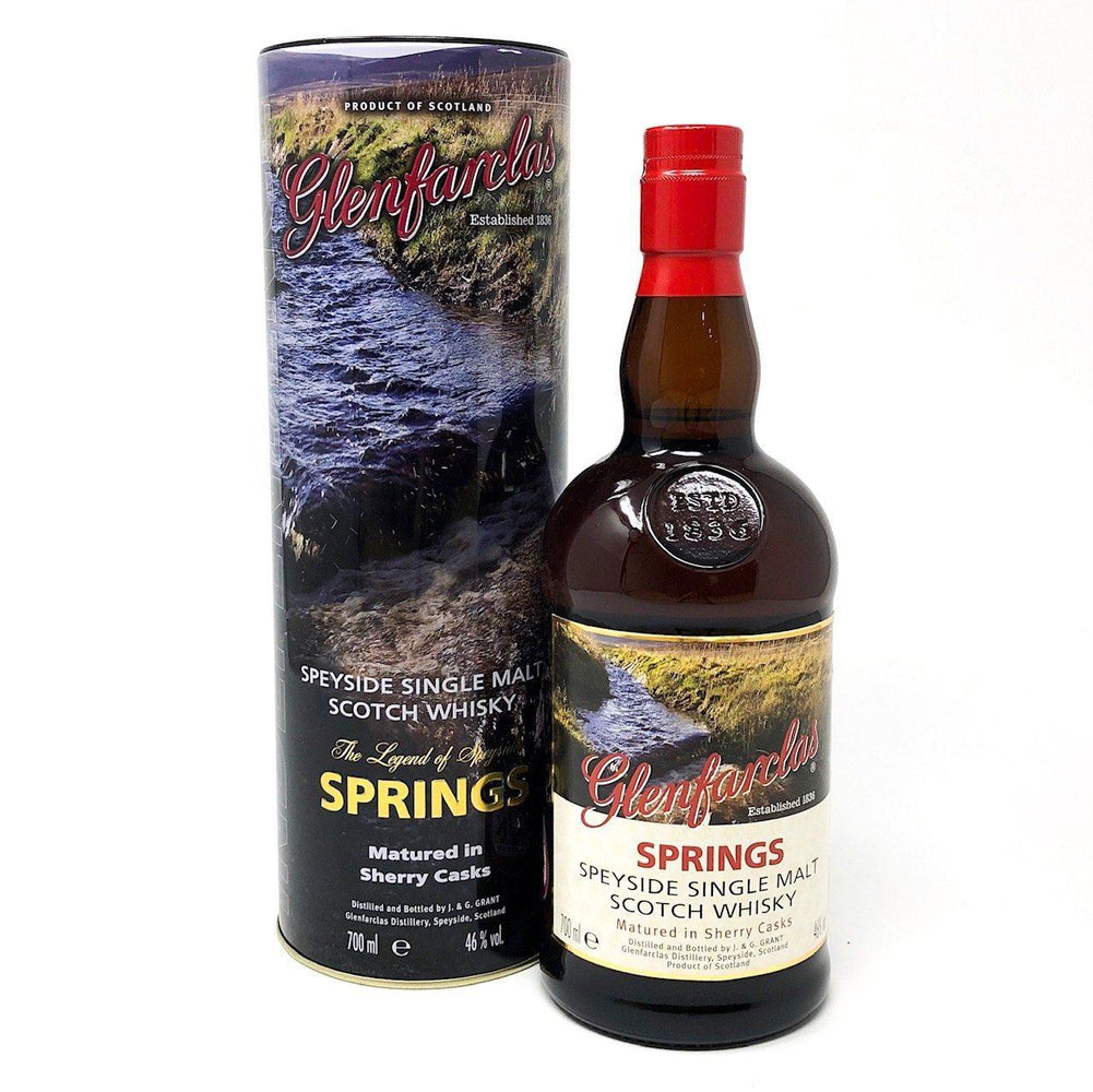 Glenfarclas Legend of Speyside SPRINGS Whisky Old and Rare Whisky