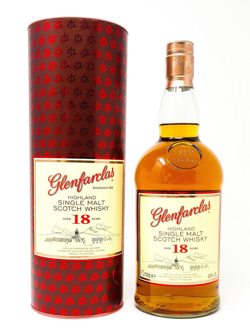 Glenfarclas 18 Year Old 1 litre Whisky Old and Rare Whisky
