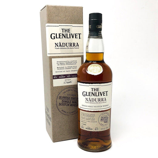 Glenlivet Nadurra Oloroso Matured Whisky Old and Rare Whisky