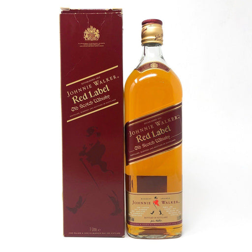 Johnnie Walker Red Label 1 Litre Whisky Old and Rare Whisky