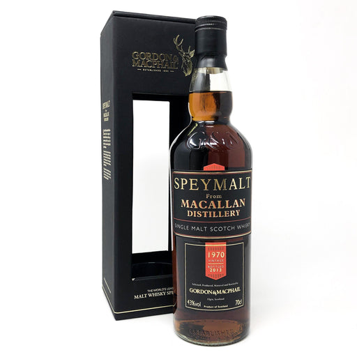 Macallan 1970 Speymalt Bottled 2013 G&M Whisky Old and Rare Whisky