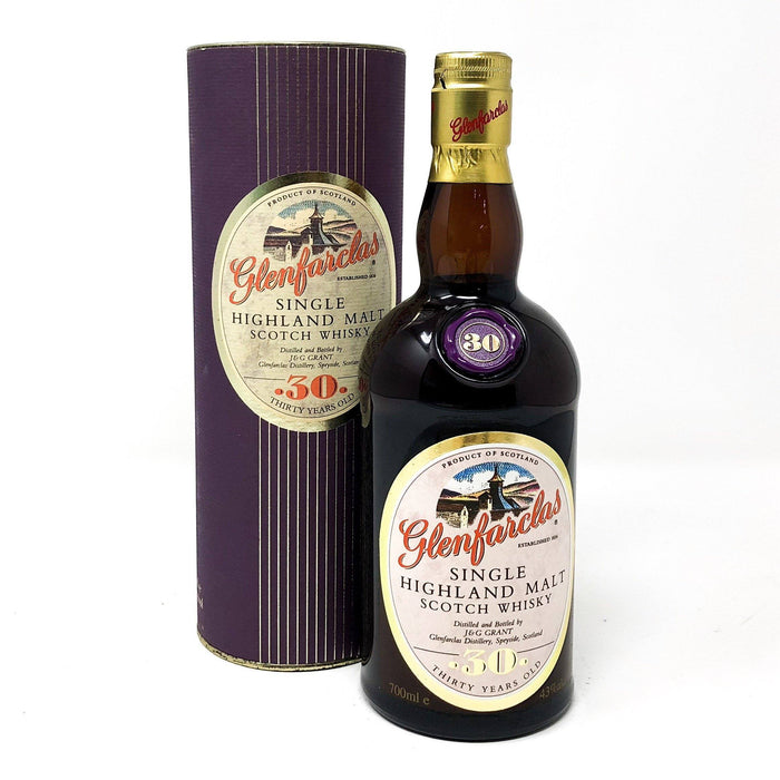 Glenfarclas 30 Year Old (Old Style) Whisky Old and Rare Whisky