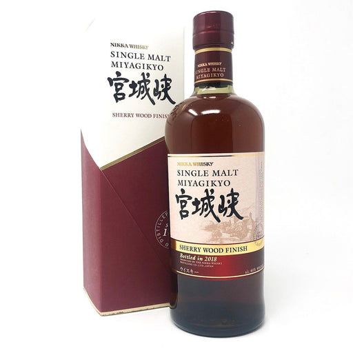 Nikka Miyagikyo Sherry Wood Finish 2018 Japanese Whisky Whisky Old and Rare Whisky