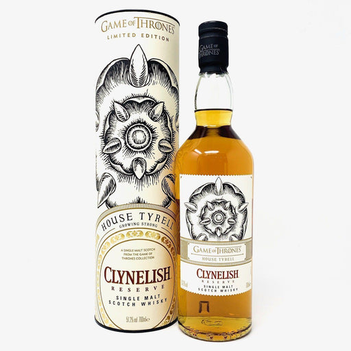 Game of Thrones Clynelish House Tyrell Whisky Old and Rare Whisky