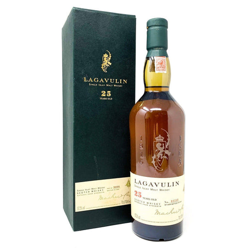 Lagavulin 25 Year Old 2002 Release Whisky Old and Rare Whisky