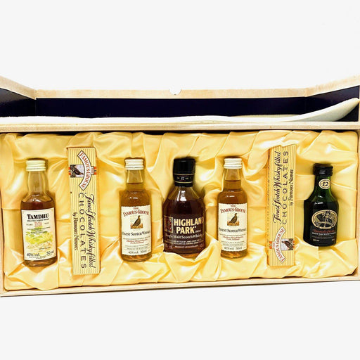 A Century of Quality Highland Distilleries Miniature Set Whisky Old and Rare Whisky
